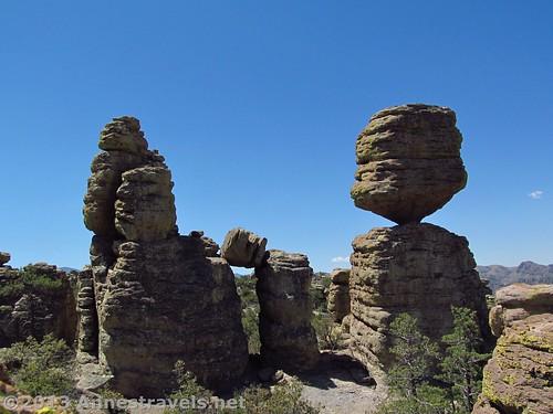 The Big Balanced Rock in Chiricahua National Monument, Arizona