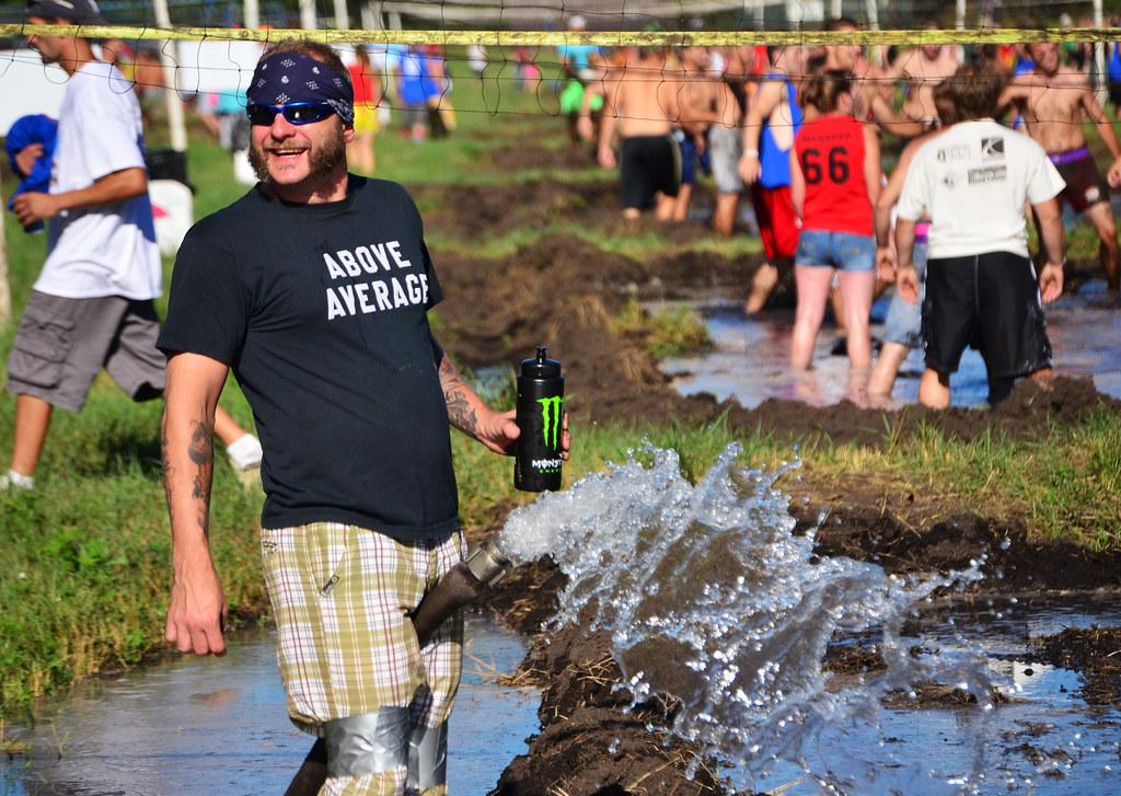 Mud Volley Ball