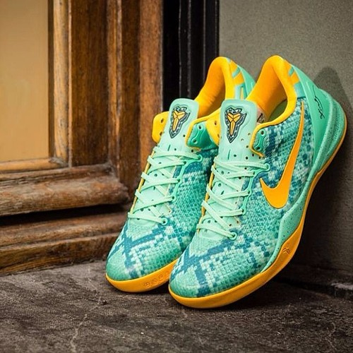 "sports shoes 1abdf 25784 ... Nike Kobe 8 System ""Green Glow"" (at Kozani)   by Fassas Thomas"