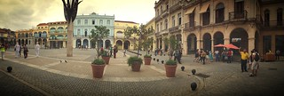 Panorama of Plaza Vieja .. Havana | by Nick Kenrick.