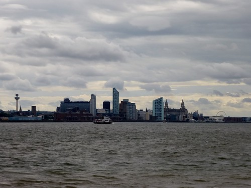Liverpool Skyline from New Brighton (04/08/2013)