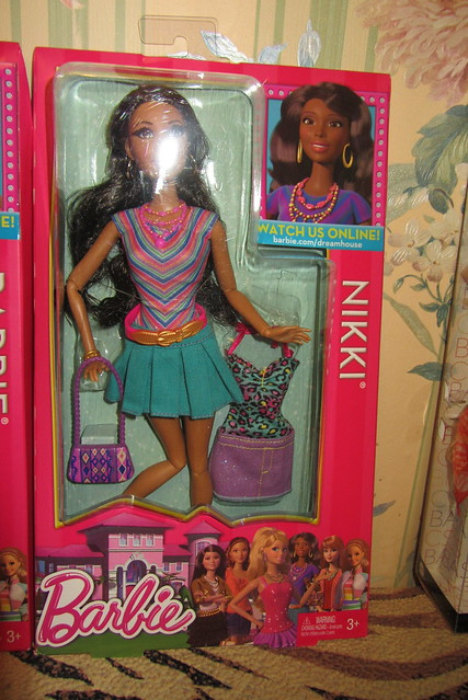 Barbie Life in the Dreamhouse Nikki Doll 2013