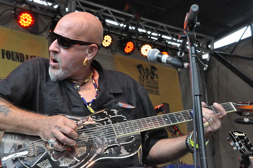John Mooney at Crescent City Blues & BBQ Fest 2013.  Photo by Kichea S Burt.
