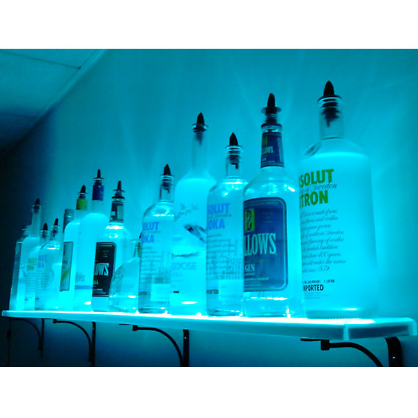 Super Wall Mounted Led Lighted Liquor Bottle Shelf By Armana Pro Interior Design Ideas Lukepblogthenellocom