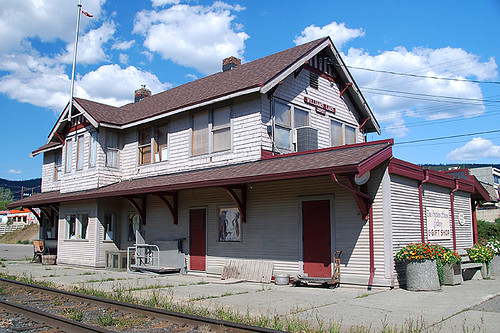 Pacific Great Eastern Railway Station, Williams Lake, Cariboo, British Columbia, Canada