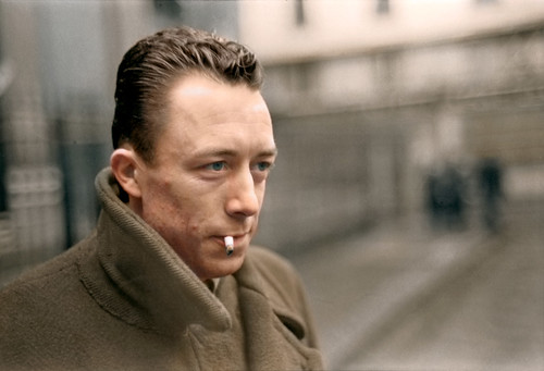 French philosopher Albert Camus