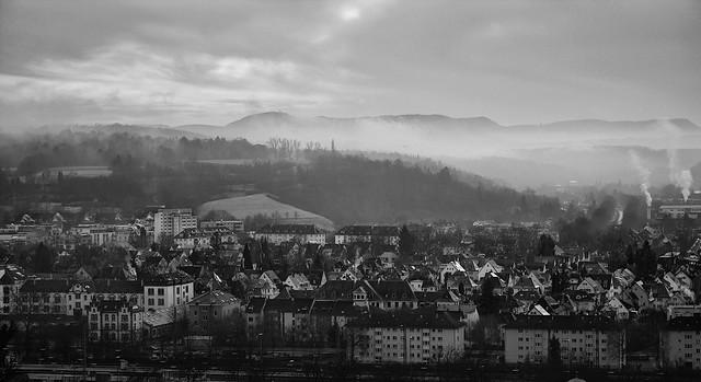 Tübingen, nach Süden zu ·