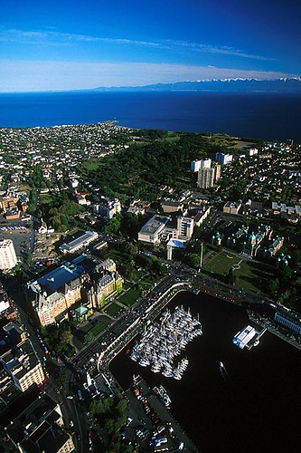 Victoria on Vancouver Island is the Provincial Capital of British Columbia, Canada