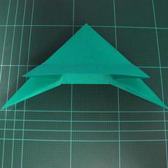 การพับกระดาษเป็นรูปเรือมังกร (Origami Dragon Boat) 020