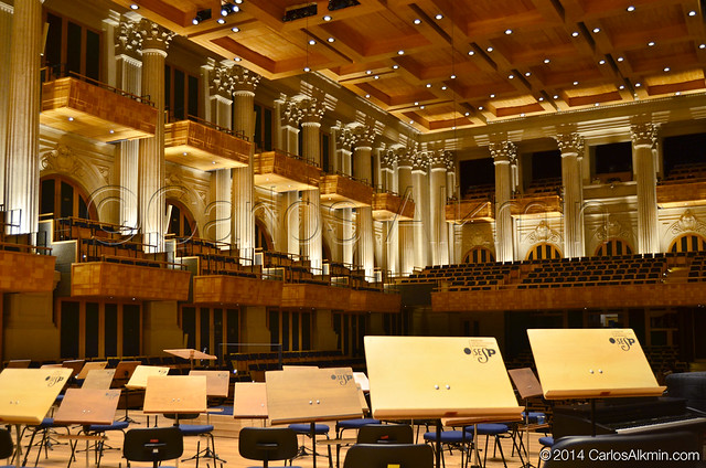 Sala São Paulo vista do palco