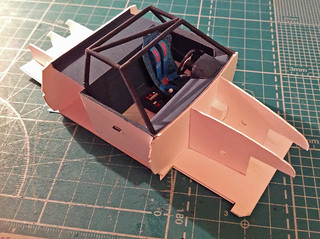 BMW M1 Papermodel roll cage | by efremoviv