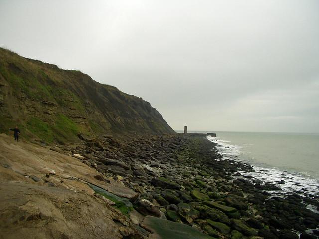 The coast east of Folkeston
