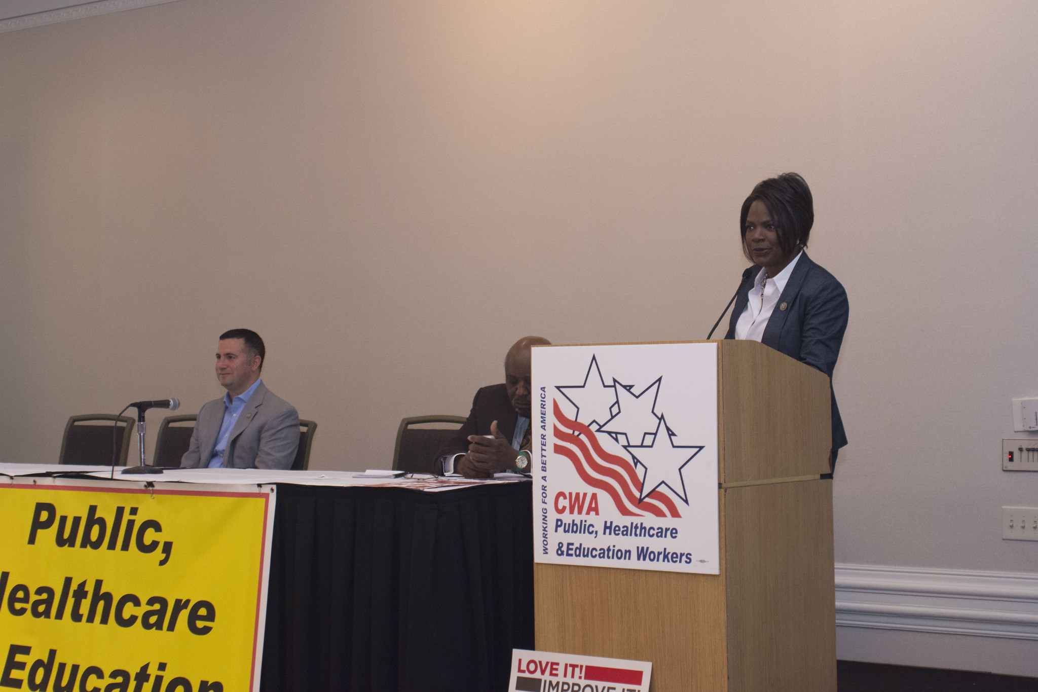 Rep. Val Demings at the 2017 Public, Healthcare, and Education Workers Conference