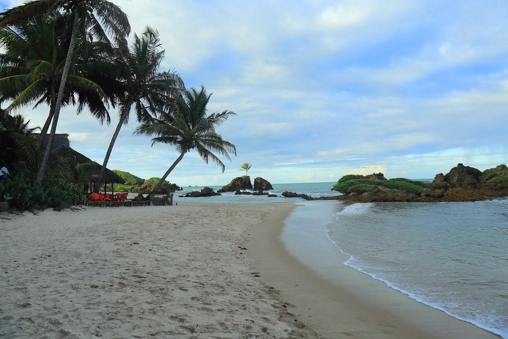 Nude beach in Brazil. Tambaba - Paraíba - Brasil