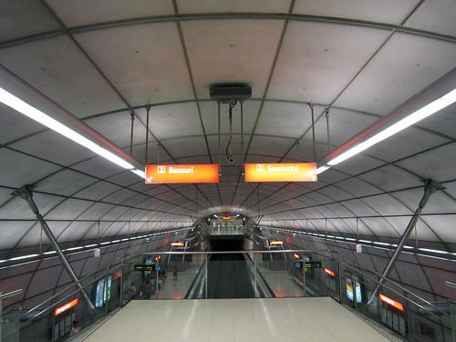 Bilbao Subway. Norman Foster + Otl Aicher