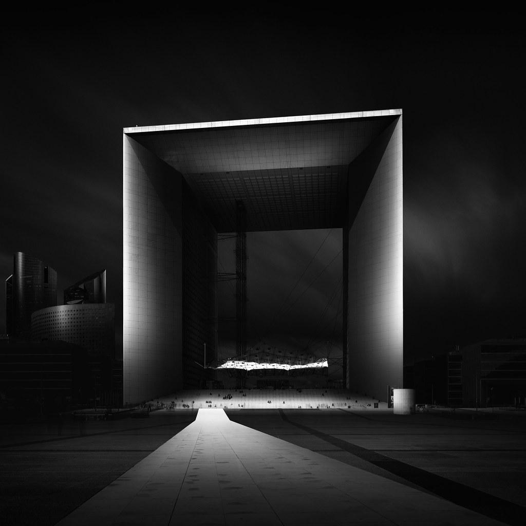 Visual Acoustics I - La Défense Study III - La Grande Arche de la Défense - La Défense Paris