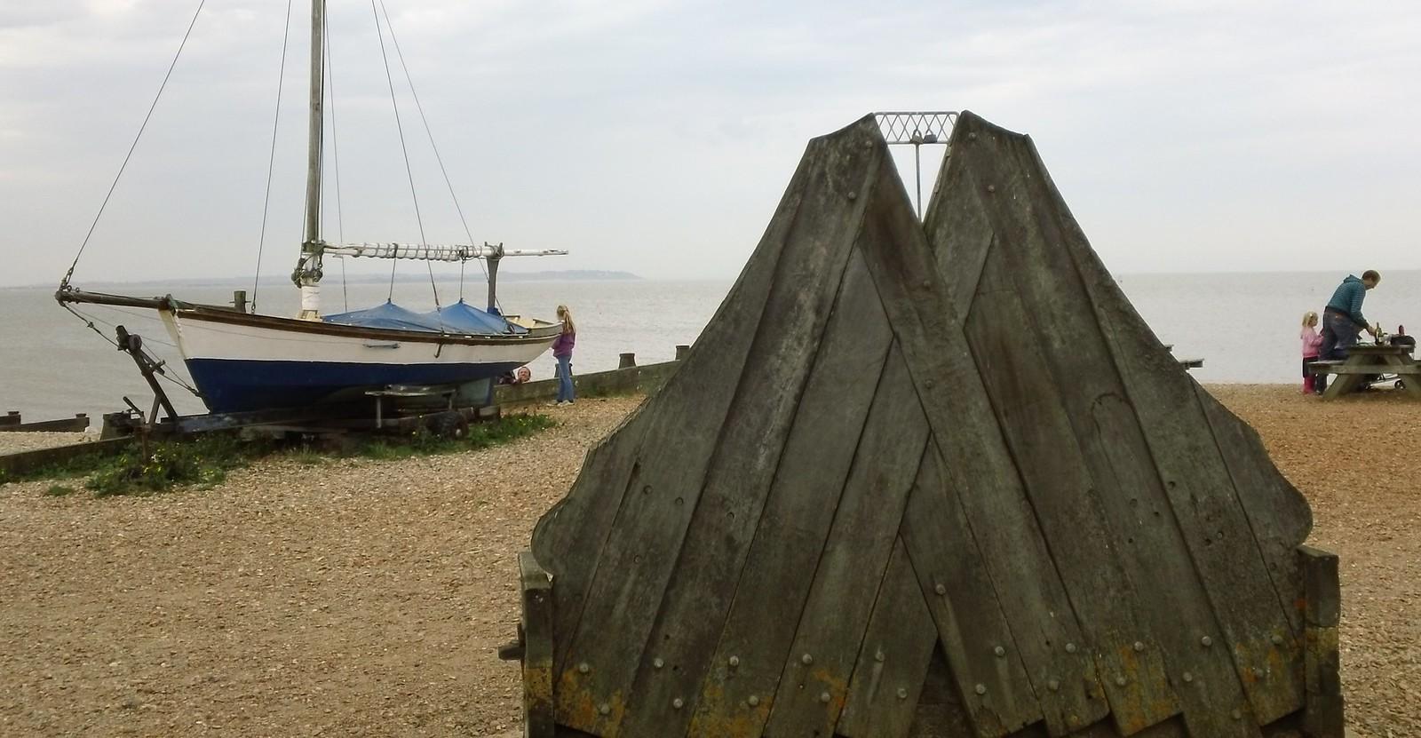 Whitstable beach art a shore-fire hit?