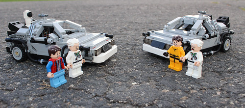 "Back to the Future: Oops ""Doc we've looped back to see ourselves... "" 