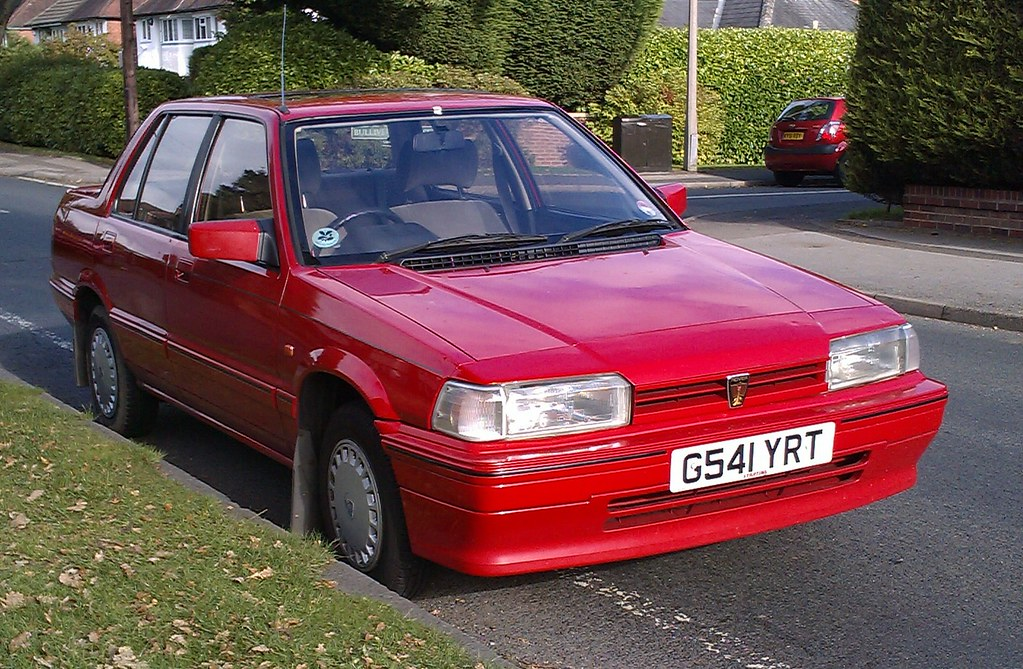 rover 213 red