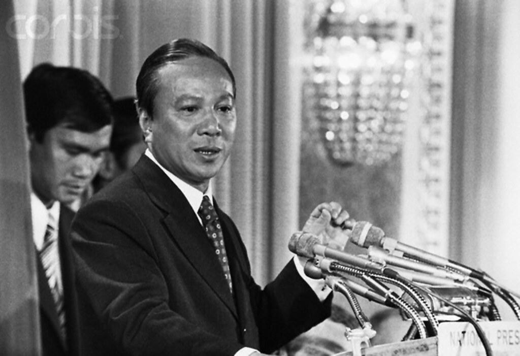 Nguyen Van Thieu   20th century --- Nguyen Van Thieu speaks …   Flickr