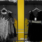 Colorless dress