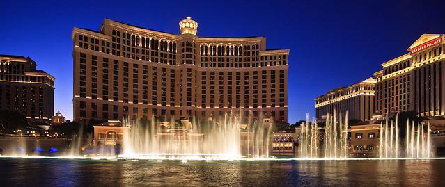 The Bellagio Dancing Fountains, Las Vegas
