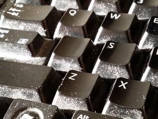 Dusty keyboard | by SchuminWeb
