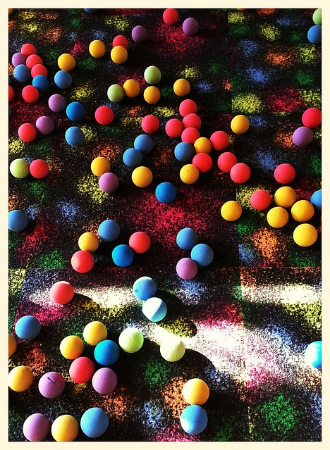 Colorful Sponge Balls