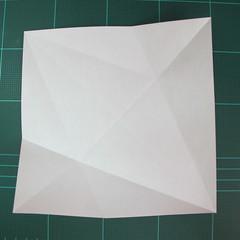 วิธีการพับกระดาษรูปม้าน้ำ (Origami Seahorse) 006