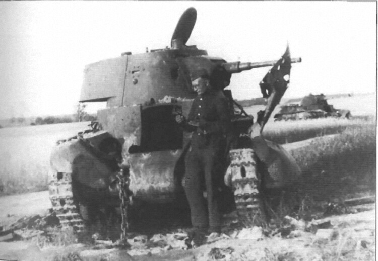 Sovjetski BT-5 light tank