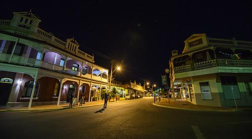 york wa nightview westernaustralia smalltown streetview outbacktown
