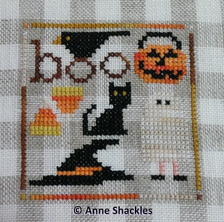 Twisted Threads-October Boo Mini Gingham | by Shacks66