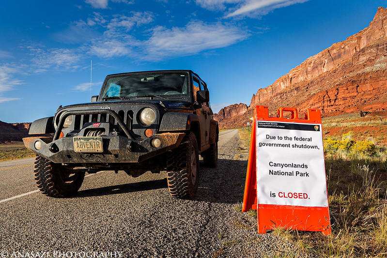 Canyonlands Closed
