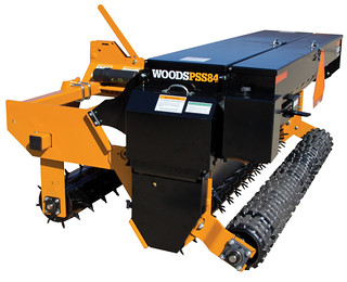 Woods Precision Super Seeder PSS84 with two seed boxes | by WoodsEquipmentCompany