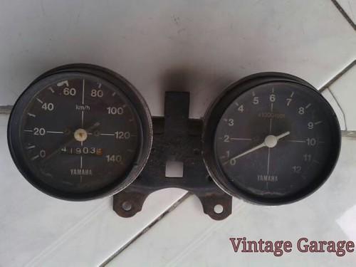 Speedometer rpm yamaha twin