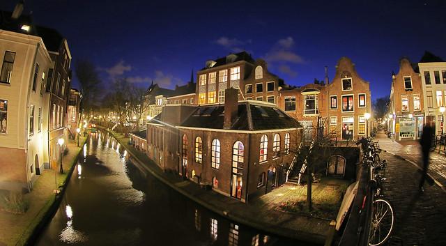 Utrecht, Oudegracht; brewery