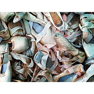 All of my pointe shoes! | by gemmyjade