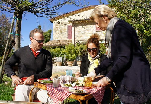 Springtime in Italy: layering is essential   by Concierge in Umbria