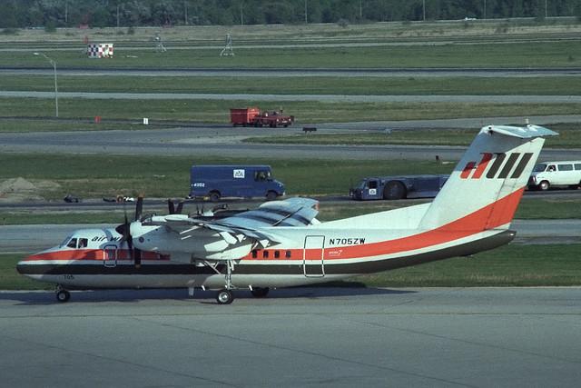 N705ZW De Havilland Canada DHC-7-102 Air Wisconsin