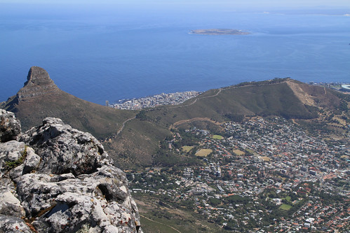 View from Table Mountain. | by richard evea
