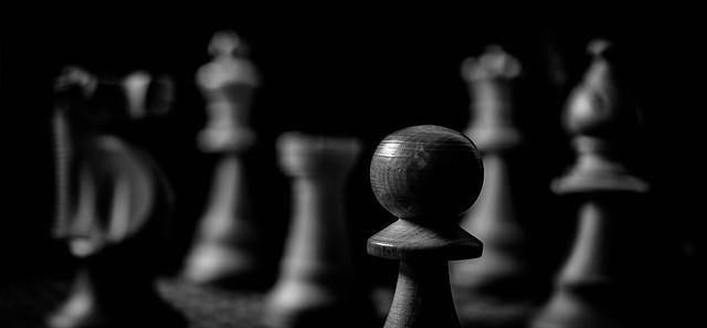 A pawn's-eye view