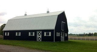 horse barn | by First Home Dreams
