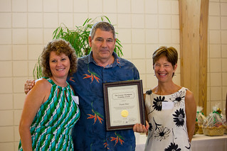 Volunteer Leigh Merritt, volunteer Frank Platt and Training Coordinator Christine Gornik during the awards ceremony at Guardian ad Litem Appreciation Day on June 15, 2013 in Tallahassee, Florida. | by flguardian2