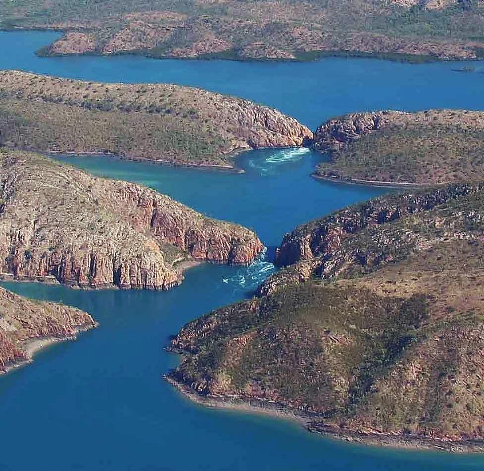HORIZONTAL Falls - Kimberley region of Western Australia
