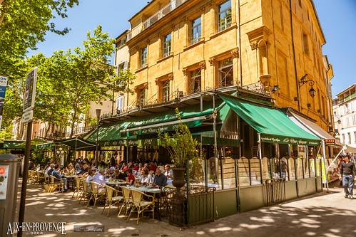 CPSM FRANCE 13 Aix en Provence, cours Mirabeau | 13