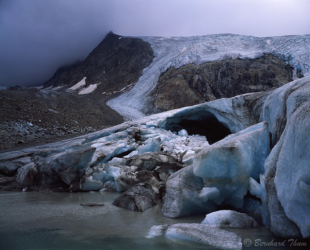 Glacier tongue of Sulzenauferner