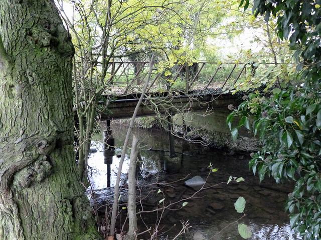 Scole Railway river bridge