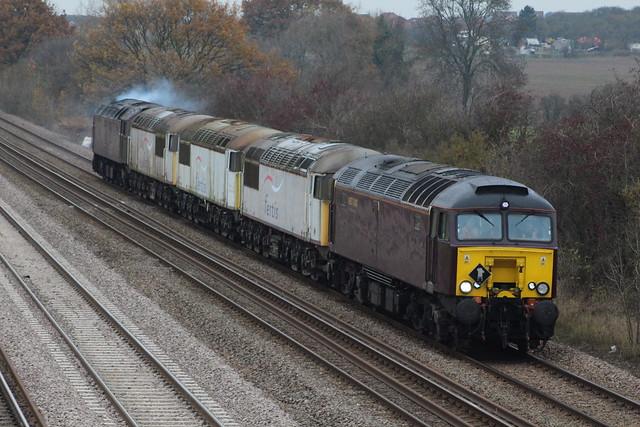 57315+56106+56031+56069+57601 light engine move cossington