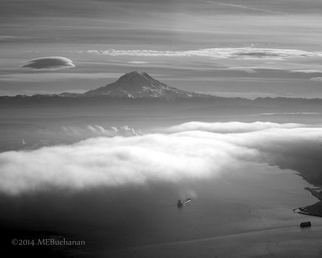 Rainier & Fog & Lenticular