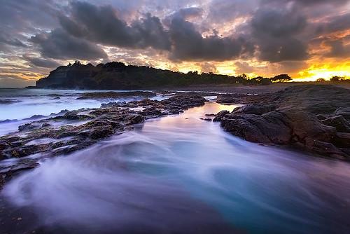 seascape surf nsw coastline glowing australiancoast ruggedcoastline tiphoto